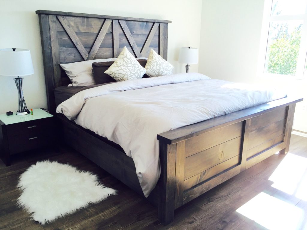 farmhouse bedroom furniture. Barn Door Farmhouse Bed PINE MAIN  Rustic Furniture Locally Made