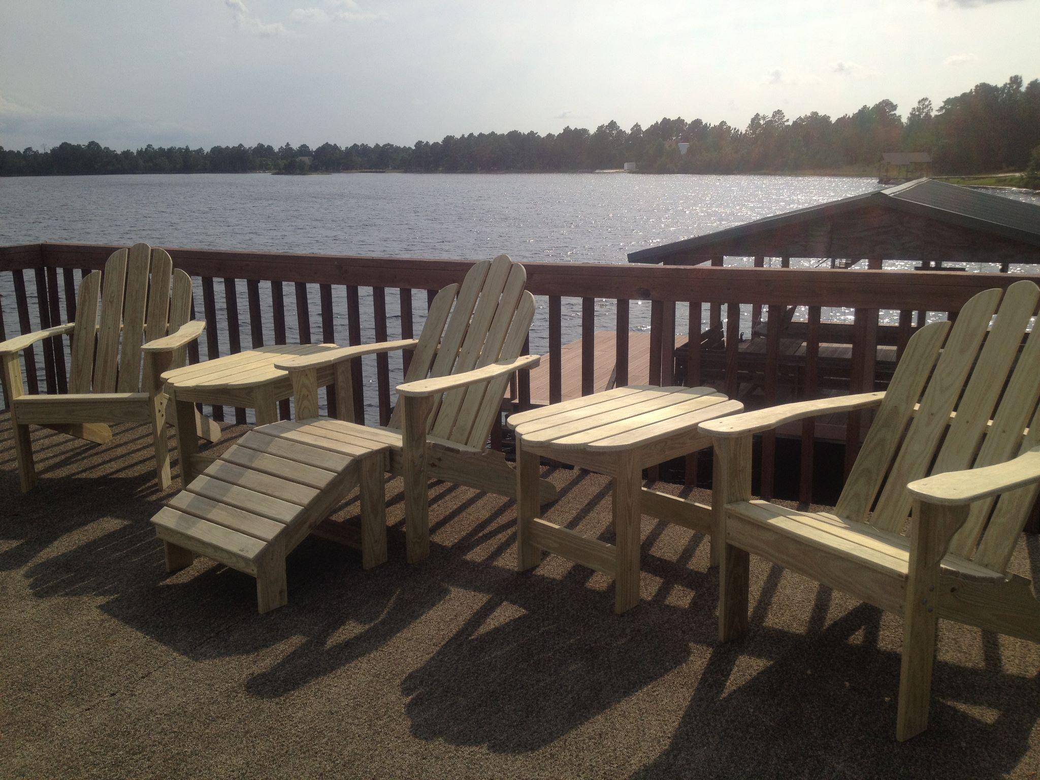 Masonboro Adirondack chair Pine Main