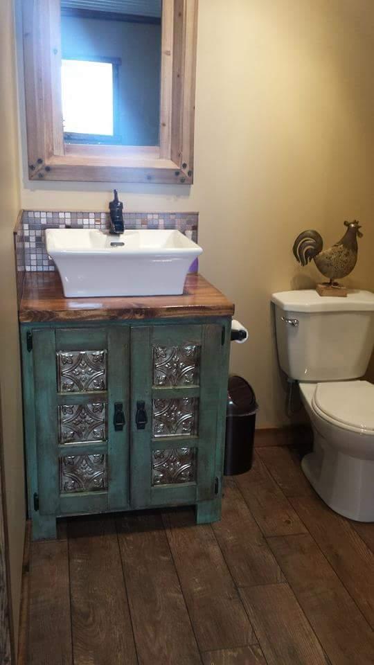 Custom Rustic Bathroom Vanities Pine Main