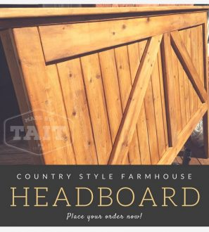country-headboard