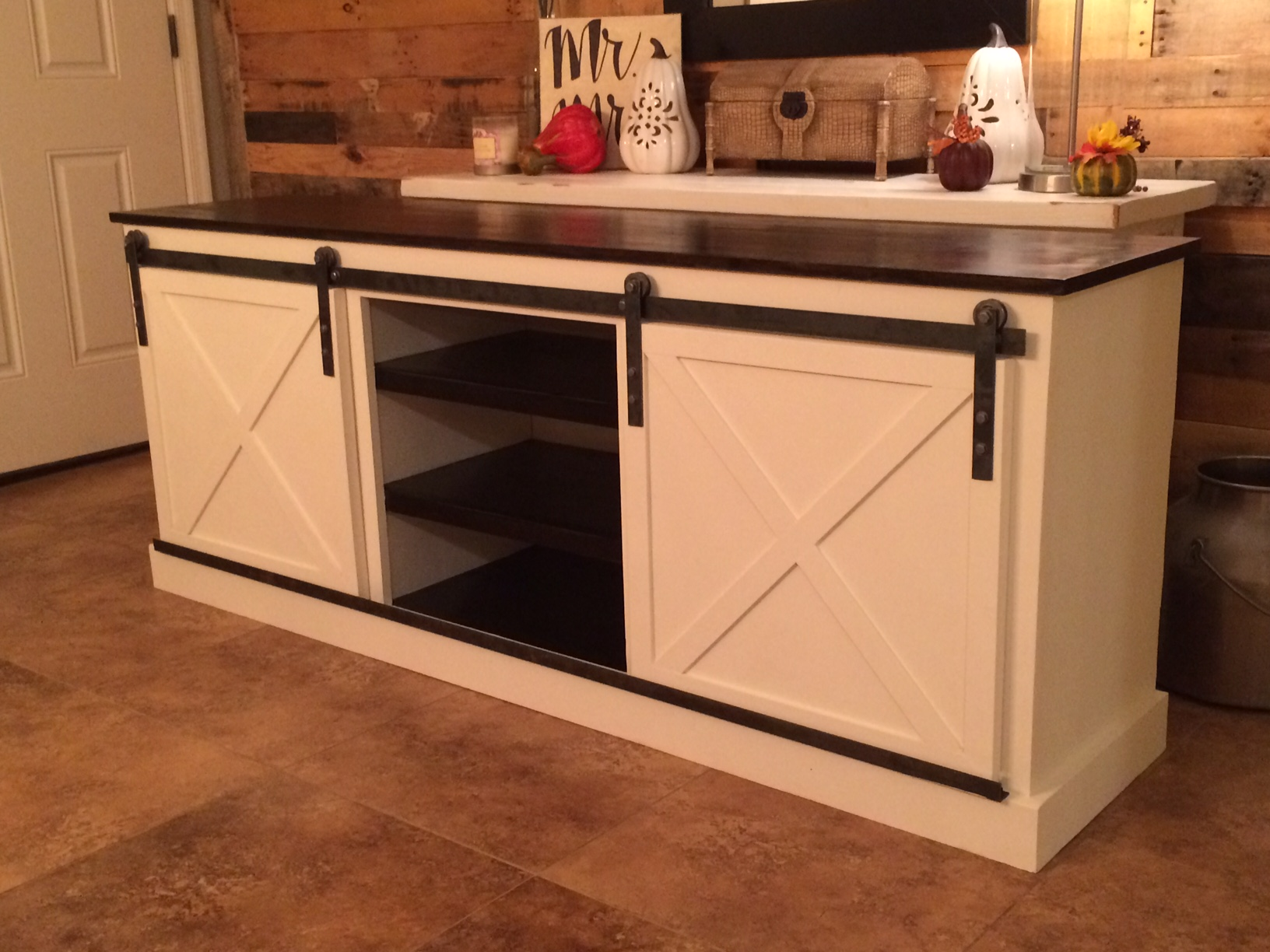 Console Cabinet With Doors