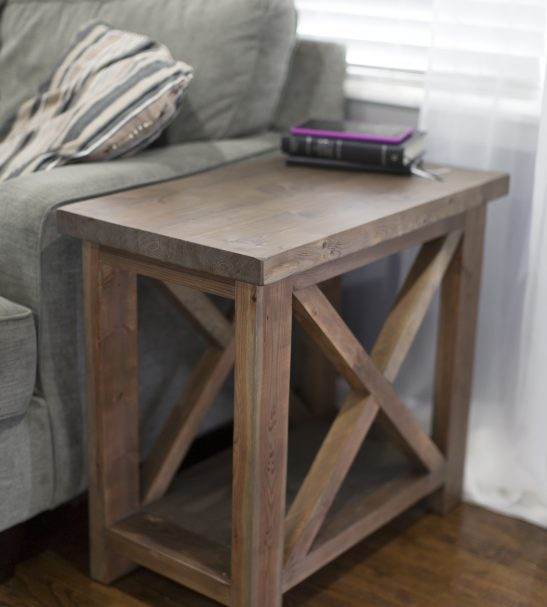 Side Table Pine Main