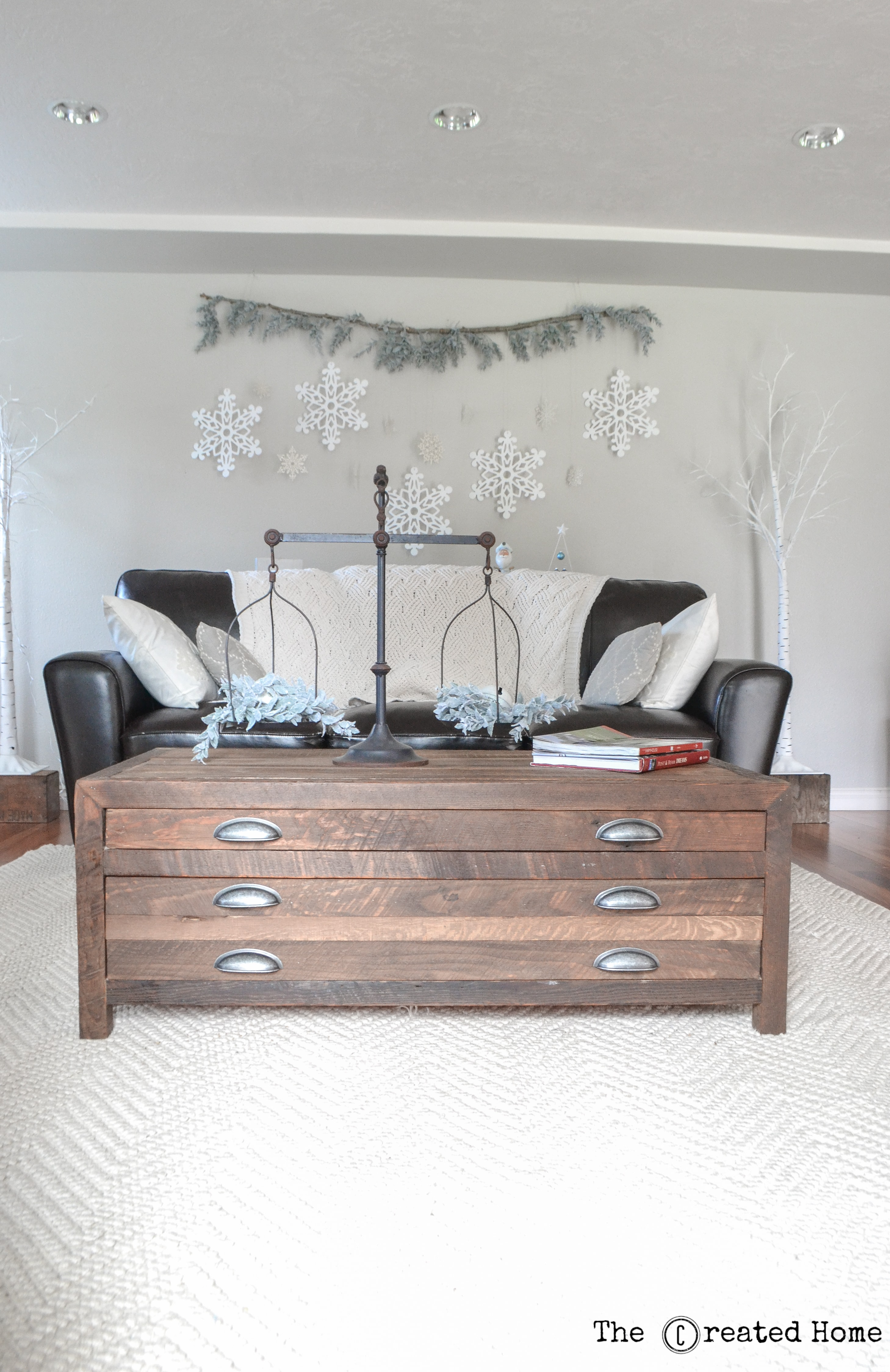 Printmaker s Coffee Table Pine Main
