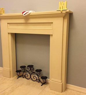 faux-fireplace-mantel