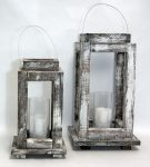 2-wooden-candle-holders-shabby-chic-white