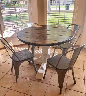 42 inch round table david wood